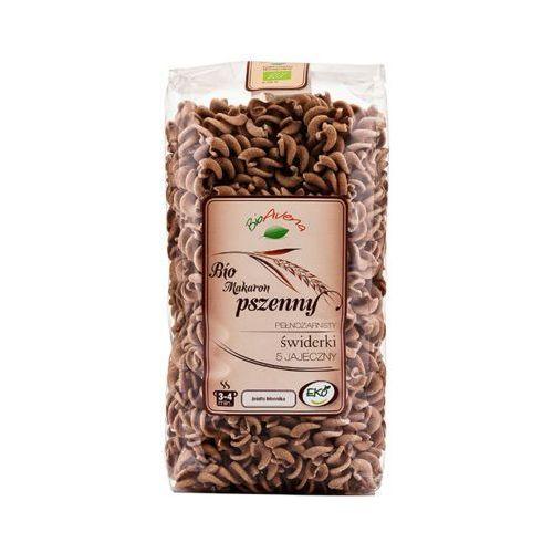 400g bio makaron pszenny pełnoziarnisty świderki marki Bioavena