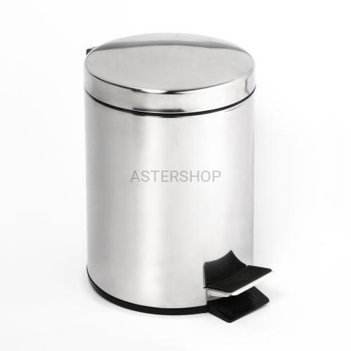 Bemeta Kosz na śmieci 3l, stojący, połysk 104315022 (8592207001314)
