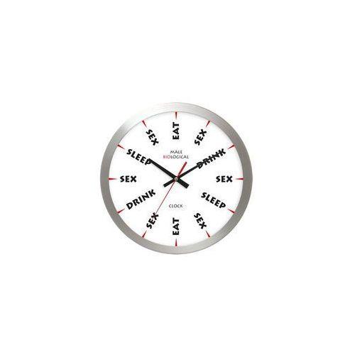 Zegar biologiczny mężczyzny aluminium