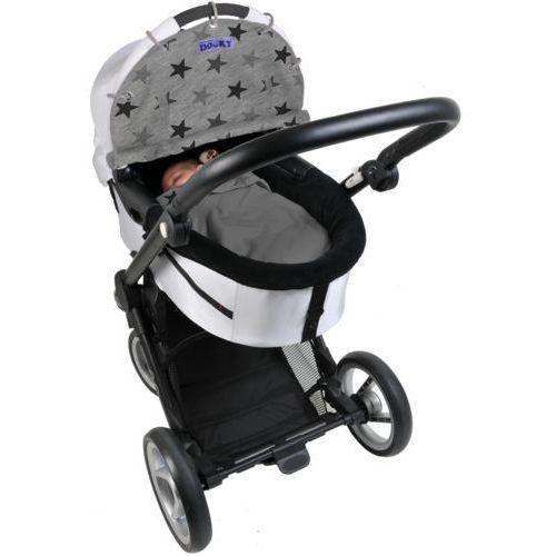 Osłonka do wózka i fotelika Dooky Design Grey Stars, 126616