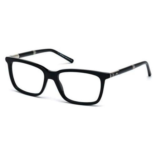 Okulary korekcyjne mb0489 001 marki Mont blanc