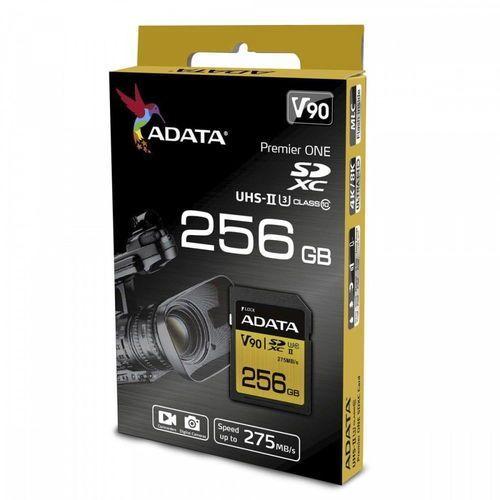 Adata sd premier one 256g uhs 2/u3/cl10 275/155mb/s (4712366968738)