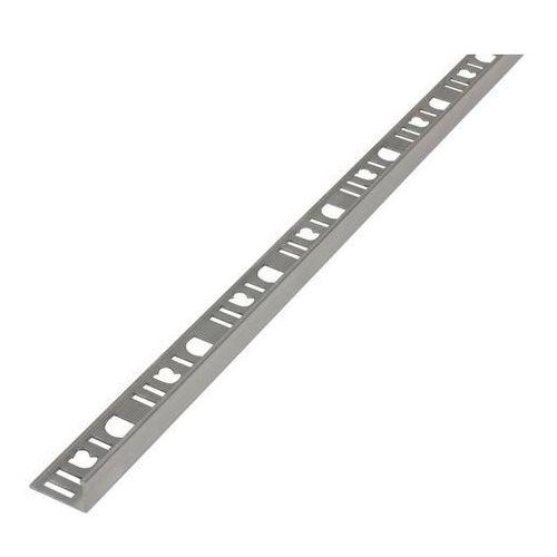 Diall Profil aluminiowy narożny 10 mm typ l surowe aluminium 2,5 m