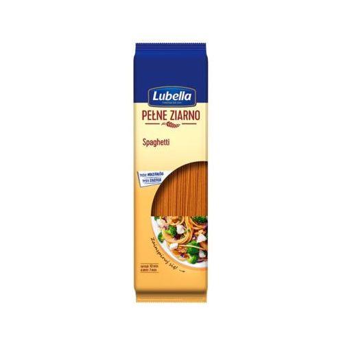 Lubella 400g makaron spaghetti pełne ziarno