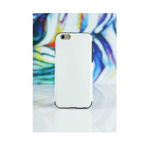 Etui MOBIO Skórzany Back Case iPhone 6/6s Plus Biały (5901854509570)