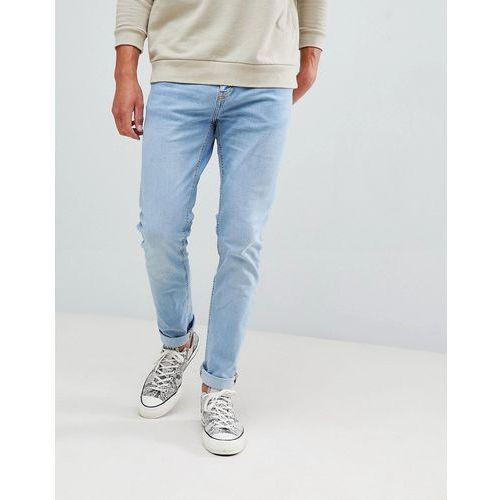 Bershka Skinny Jeans In Light Blue - Blue, skinny
