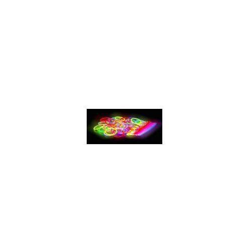 Świecące Pałeczki Fluorescencyjne 50szt. (5 kolorów).