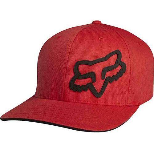 czapka z daszkiem FOX - Boys Signature Red 003 (003), kolor czerwony