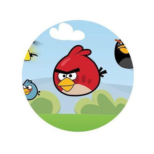 Dekoracyjny opłatek tortowy angry birds - 20 cm - 5 marki Modew