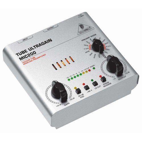 Behringer  mic200 tube ultragain przedwzmacniacz