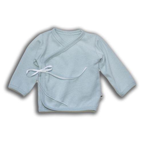 Organiczny Kaftanik Kimono Wiązany, Mint, NANAF ORGANIC, NAN3852