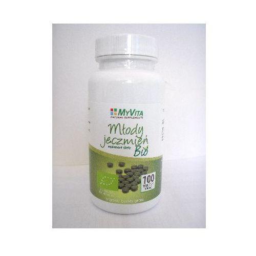 Młody jęczmień 500 mg BIO - 100 tabl. (5903111710996) - OKAZJE