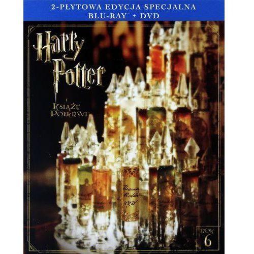 David yates Harry potter i książę półkrwi. 2-płytowa edycja specjalna (1bd+1dvd) (płyta bluray) (7321996200414)