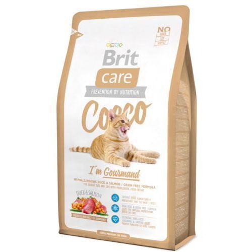 Brit Care Cat Cocco I'm Gourmand - Kaczka z łososiem 2kg, KBRI021