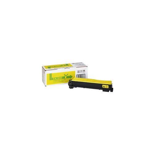 Toner tk-540y 4000 stron żółty oryginalny marki Kyocera mita