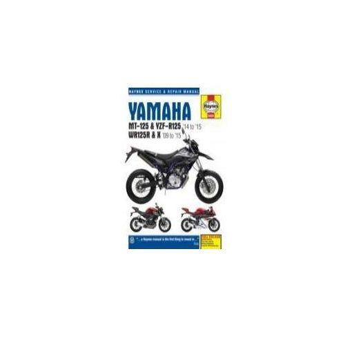 Yamaha MT 125, YZF R125 & WR125R Service and Repair Manual