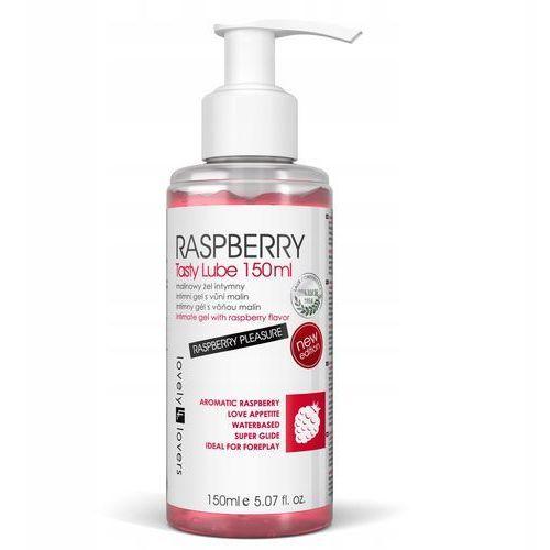 Lovelylovers Lovely lovers raspberry tasty lube 150ml-malinowy żel intymny