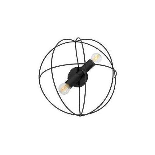 Luminex Copernicus 1100 plafon lampa sufitowa 2x60W E14 czarny, 1100
