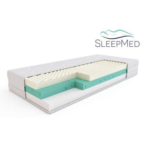 Materace sleepmed Sleepmed supreme - materac termoelastyczny, piankowy, rozmiar - 120x200 wyprzedaż, wysyłka gratis