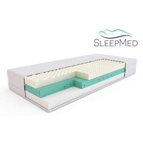 Materace sleepmed Sleepmed supreme - materac termoelastyczny, piankowy, rozmiar - 180x200 wyprzedaż, wysyłka gratis (5901595011639)