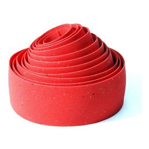 Bikeribbon Owijka na kierownicę bike ribbon cork gel gr.2,5mm czerwona (new)