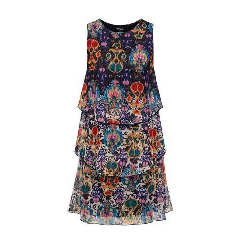 sukienka 'vest_florencia' mieszane kolory marki Desigual