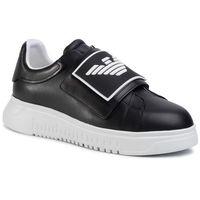 Sneakersy EMPORIO ARMANI - X4X300 XM320 A792 Black Blk/Blk Black, w 7 rozmiarach