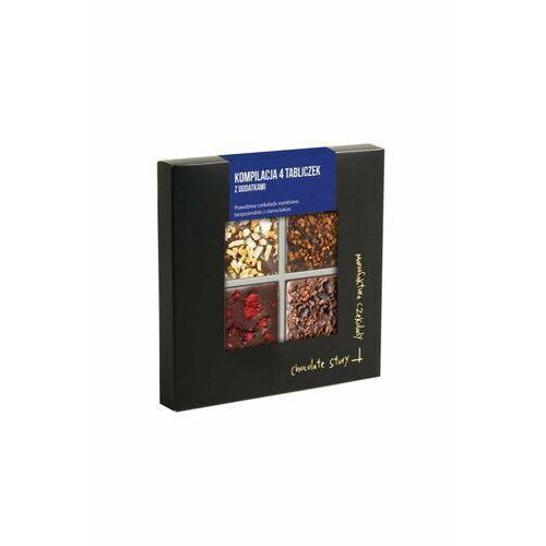 Manufaktura czekolady kompilacja 4 tabliczek 100g