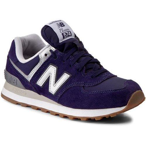 Sneakersy NEW BALANCE - ML574HRJ Granatowy, kolor niebieski