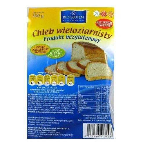 Chleb wieloziarnisty bezglutenowy 300g Bezgluten (5906720573495)
