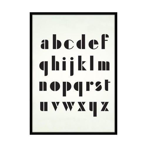 Kanwa ALFABET TECHNICZNY 50 x 70 cm (5901844231191)