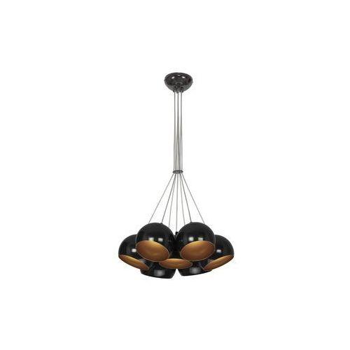 Nowodvorski Lampa wisząca ball 6588 kule zwis oprawa żyrandol 7x35w gu10 czarny/złoty