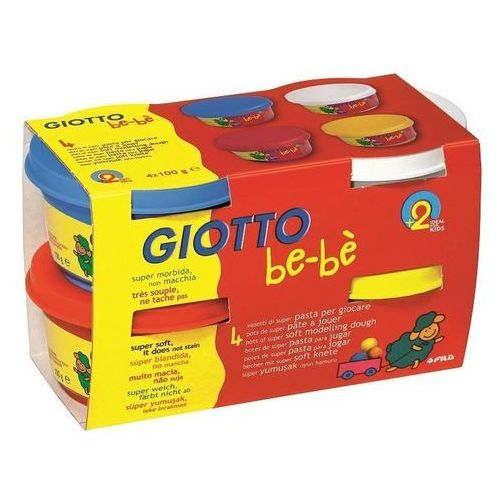 Giotto Ciastolina 4x100gr zestaw 1 bebe (8000825464911)