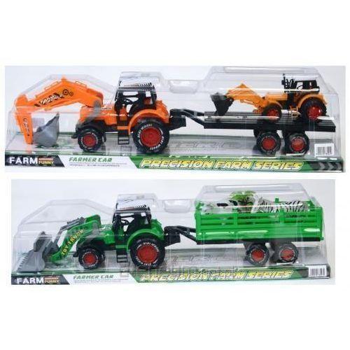 Traktor plastikowy z akcesoriami marki Mega creative