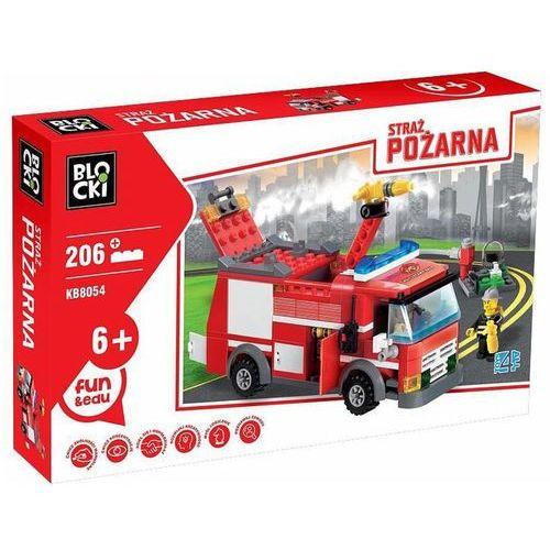 Klocki Straż Pożarna WÓZ STRAŻACKI MAŁY 206 el.