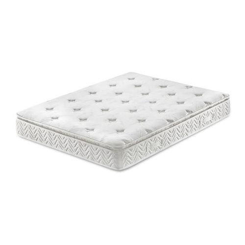 Beliani Materac kieszeniowy 180x200 cm - memory foam - multipocket - luxus