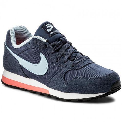 md runner 2 gs 807319-405 - damskie buty sportowe, kolor:navy, Nike