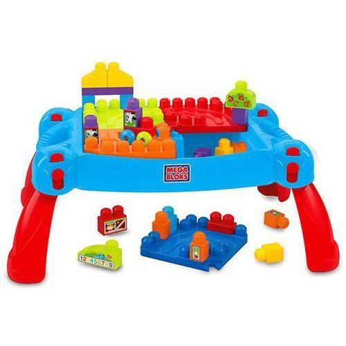 Mega bloks stolik edukacyjny pierwsze klocki, 30 elementów, cnm42 (0065541383883)