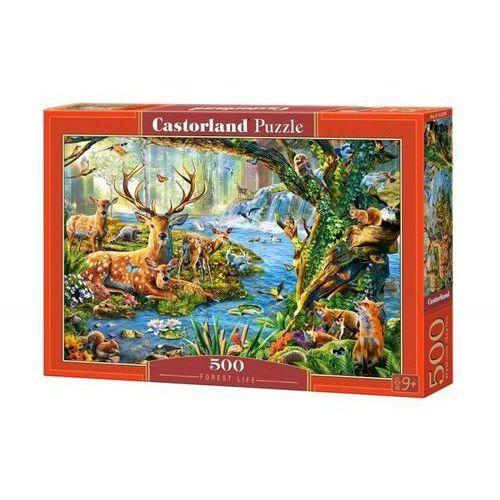 Puzzle 500 forest life - od 24,99zł darmowa dostawa kiosk ruchu marki Castor