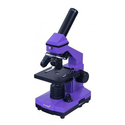 Mikroskop 2l ng amethyst fioletowy marki Levenhuk