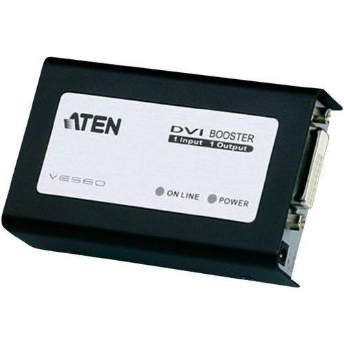 Aten CAT5 DVI Booster up to 50m, - VE560-AT-G Darmowy odbiór w 20 miastach!, kup u jednego z partnerów