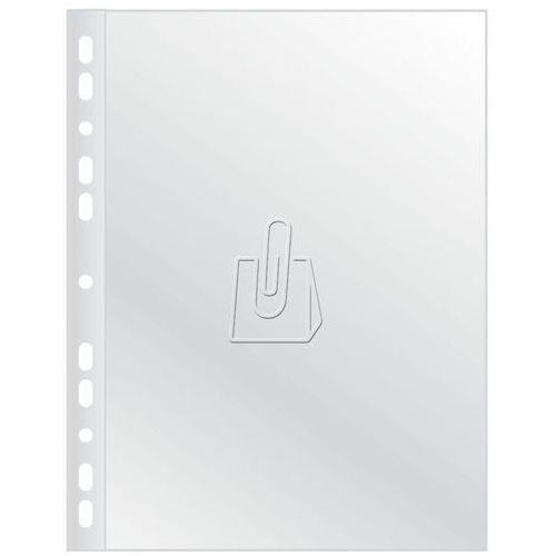 Koszulki krystaliczne Q-Connect w pudełku A4 50 mikronów 100 sztuk, 51208