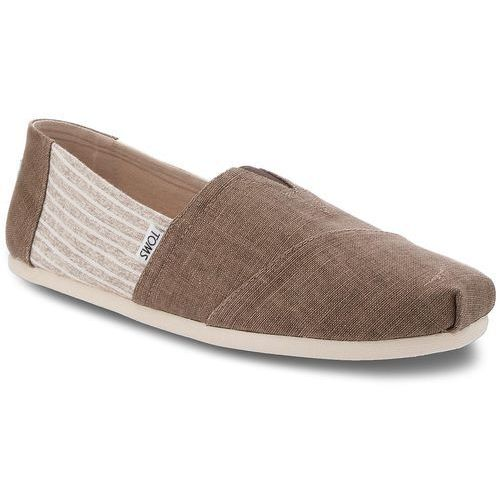Półbuty TOMS - Classic 10011581 Toffee Coated