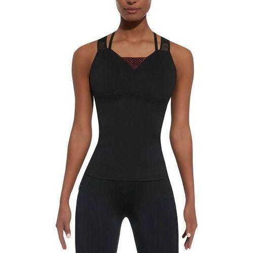 Bas black Damski top sportowy inspire-top 50, czarno-różowy, m (5902529253439)