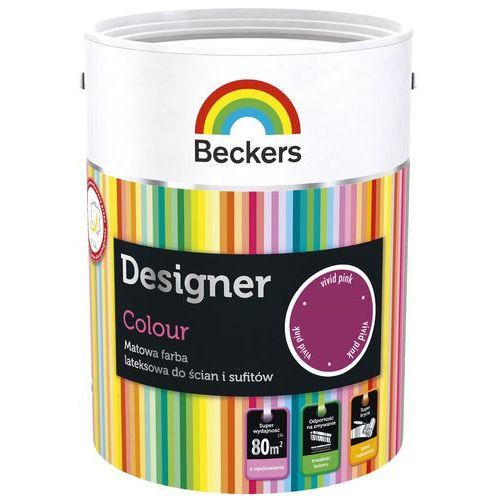 Beckers Designer Colour Powder Pink 5L, kolor różowy
