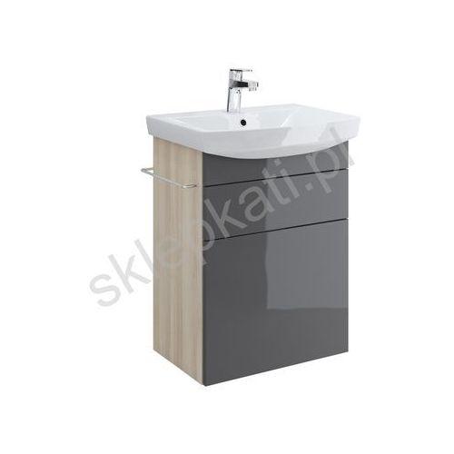 CERSANIT SMART szafka pod umywalkę CARINA 55, front SZARY S568-011