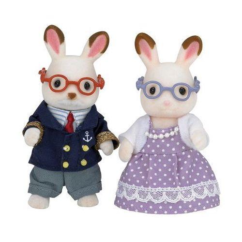 Sylvanian families babcia i dziadek czekoladowe króliki