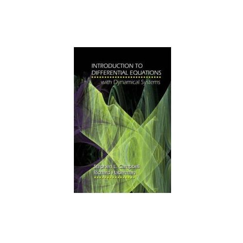 Introduction to Differential Equations with Dynamical Systems (9780691124742)