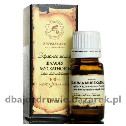 Aromatika Naturalny olejek szałwiowy, szałwia lekarska, 10 ml