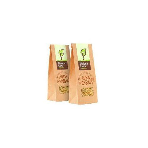 Aura herbals Zielona kawa - niepalone ziarna (250 g)